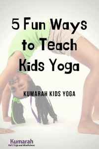 5 fun ways to teach kids yoga, yoga for kids in a classroom, how to teach kids yoga