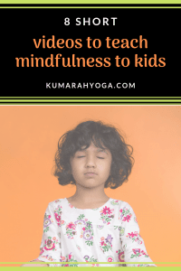 8 short videos to teach mindfulness to kids, child practicing mindfulness meditation
