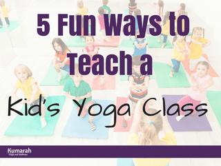 5 Fun Ways to Teach Kids Yoga in a Class