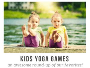 kids yoga, yoga games for kids, how to teach kids yoga, play yoga games and activities, yoga games for children