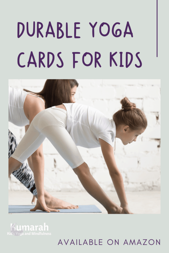 yoga cards for kids, yoga pose cards for kids, durable yoga cards for kids