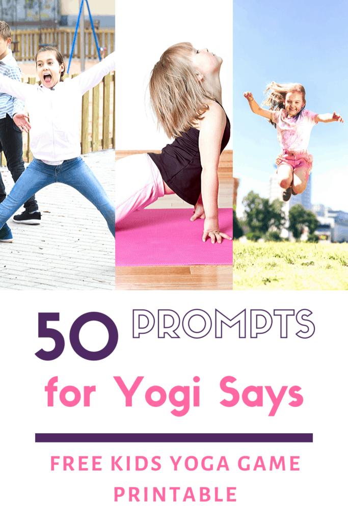 yogi says, yoga game for kids, free download of yoga game for kids