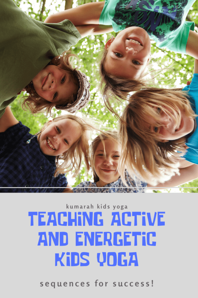 yoga games and activities for active and energetic kids