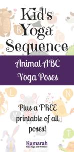 animal yoga, kids yoga poses, yoga poses for kids, yoga sequence, kid's yoga lesson plan, yoga pose, animal poses for kid's yoga