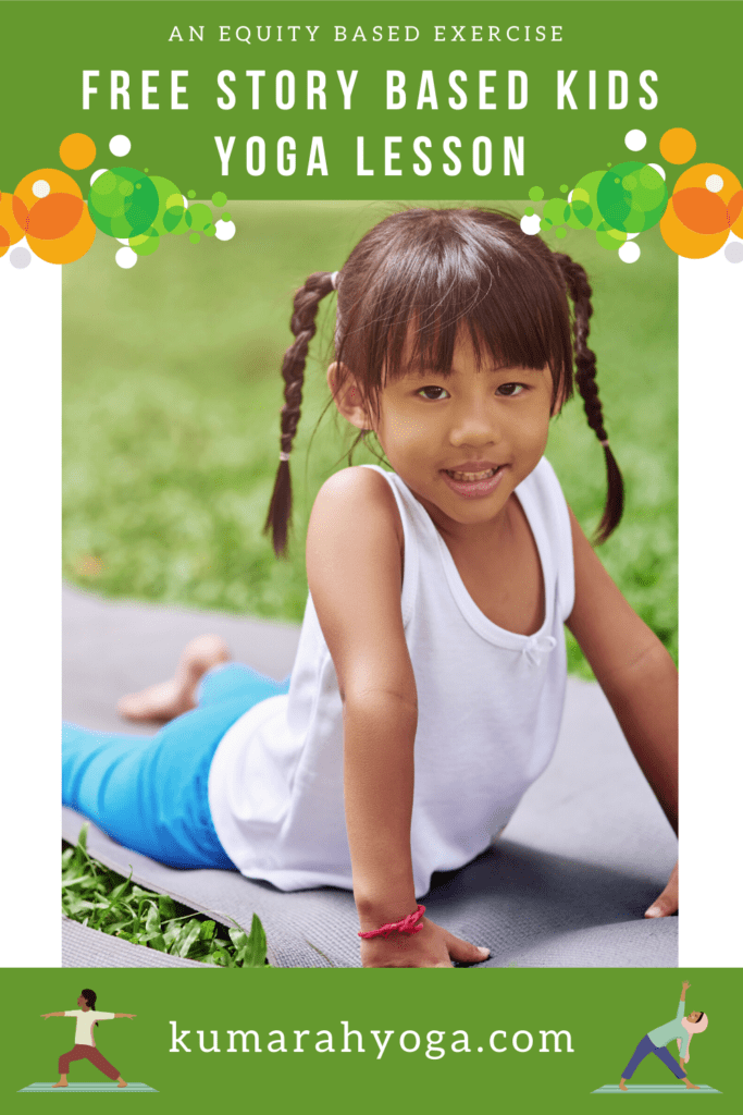 kids yoga lesson plan with equity mindset
