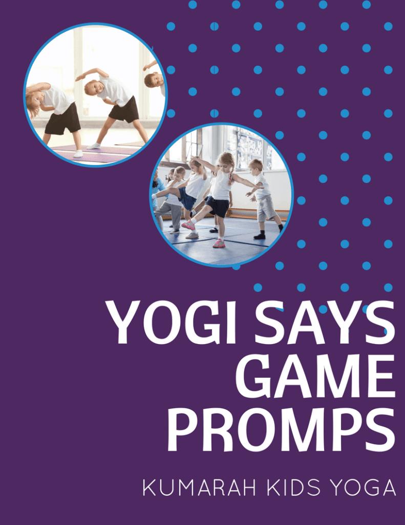 yogi says, yoga game for kids,