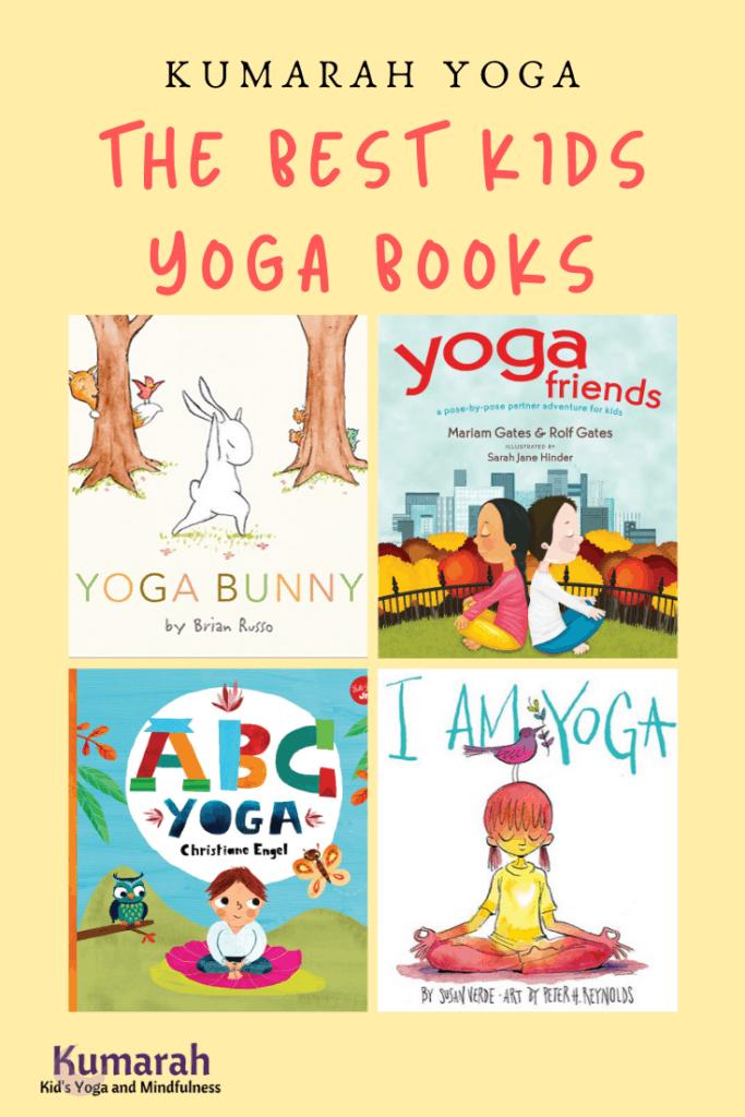 the best kids yoga books, adorable books to teach kids yoga