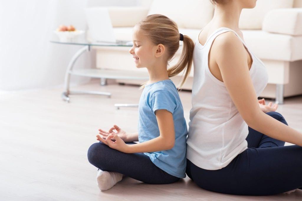 breathing exercises for kids, mindfulness partner games for kids, mindfulness for kids, back to back breath