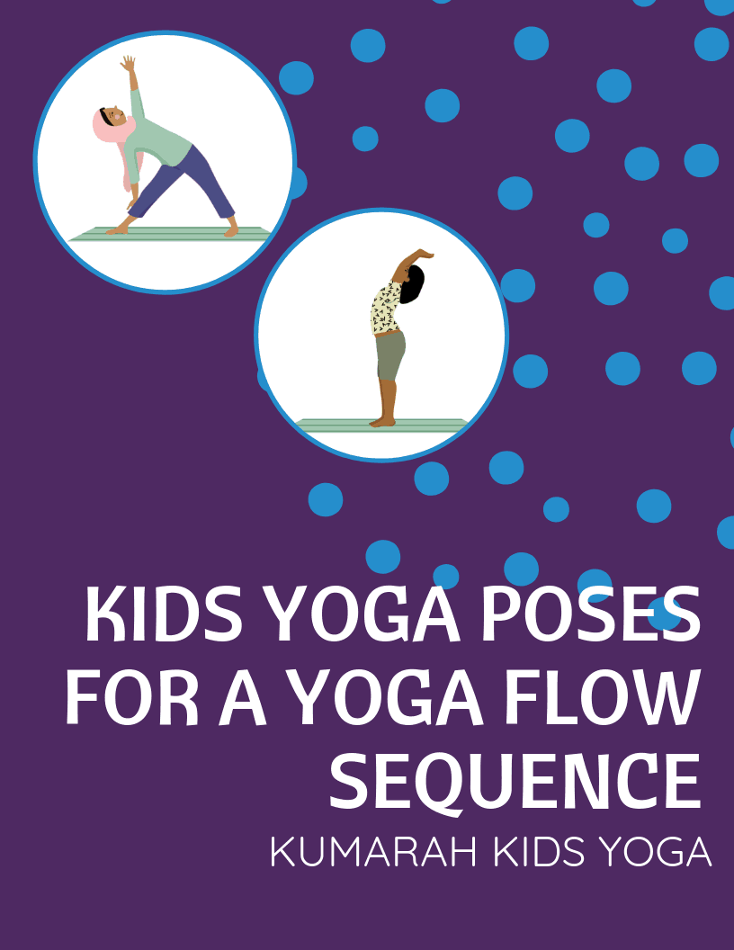 photograph regarding Kids Yoga Poses Printable named Youngsters Yoga Pose Playing cards for a Yoga Stream Collection