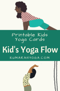 graphic regarding Printable Yoga Cards identified as Young children Yoga Pose Playing cards for a Yoga Stream Collection