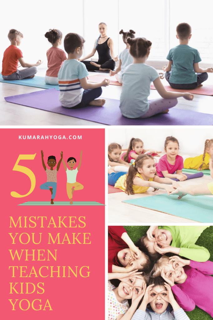 myths of teaching kids yoga