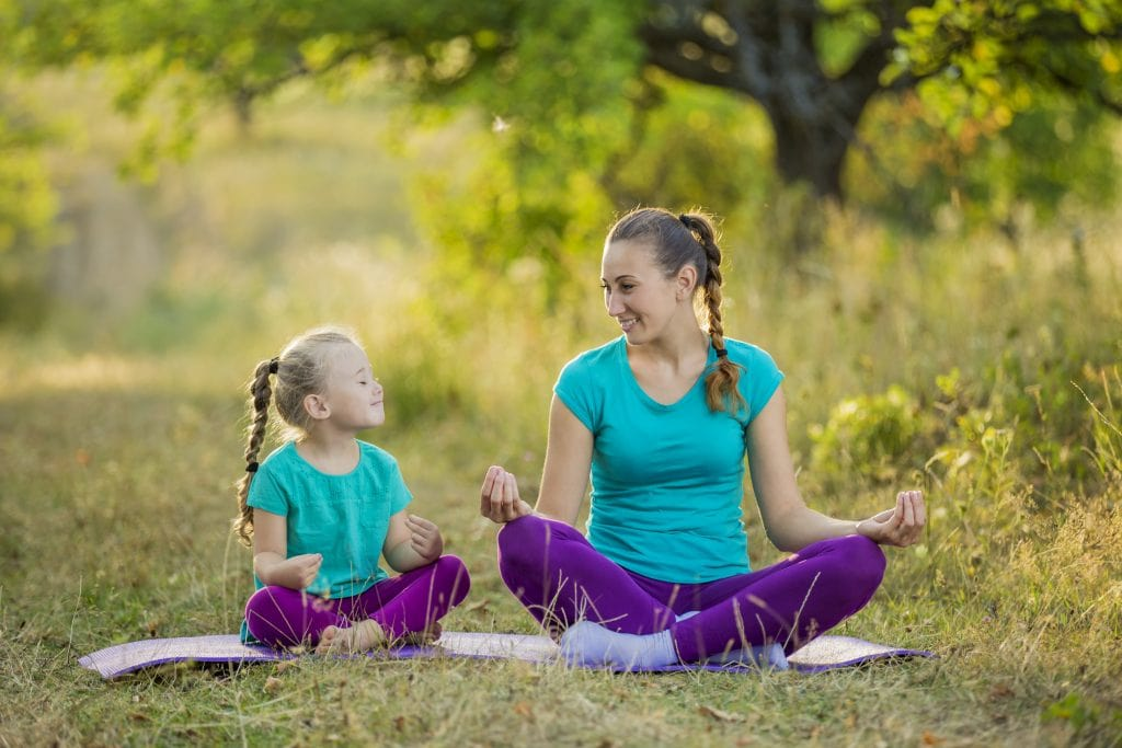 make sure your child feels supported with positive words and reactions while they are doing something important for their mind or body