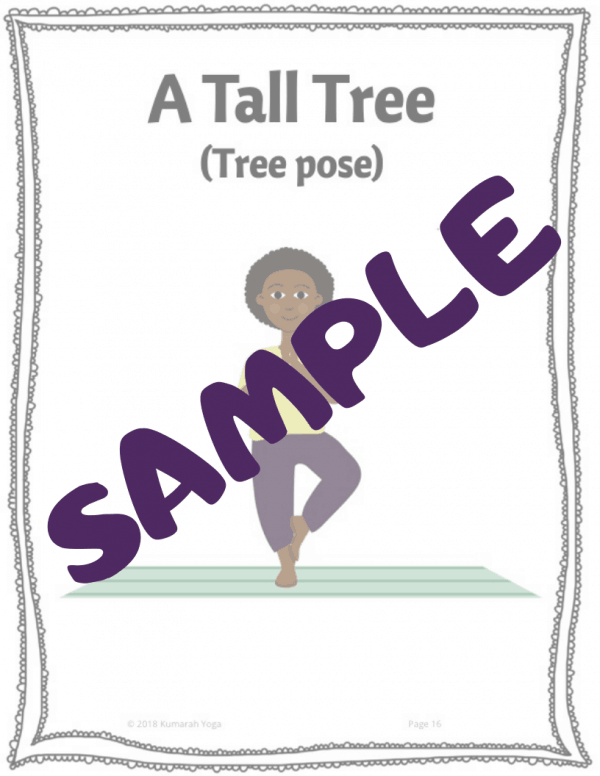 sample image for the product kids yoga lesson for the book the great kapok tree, kids yoga lesson plan with literacy