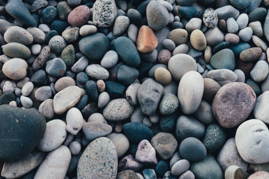 rocks that are smooth and flat for a mindfulness craft