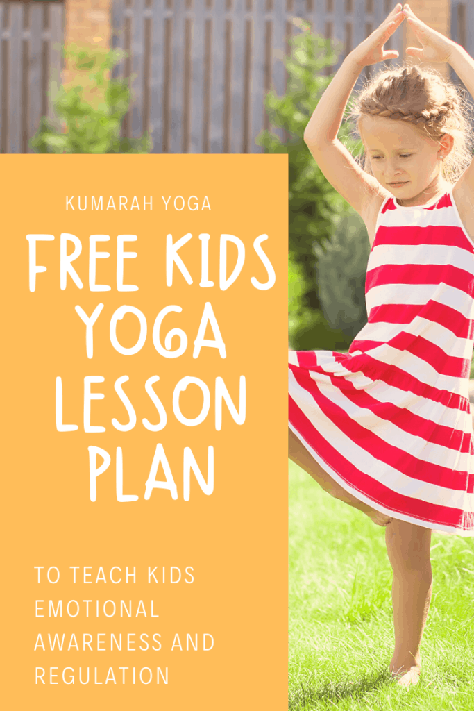 PIN-Free kids yoga lesson plan my many colored days to build emotional awareness