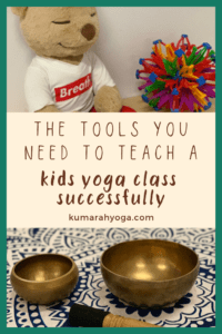 the tools you need to teach a kids yoga class successfully