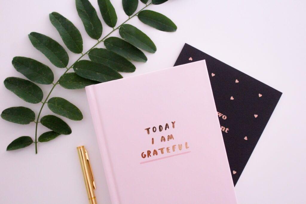 gratitude journal for self improvement and yoga, gratitude activities for kids