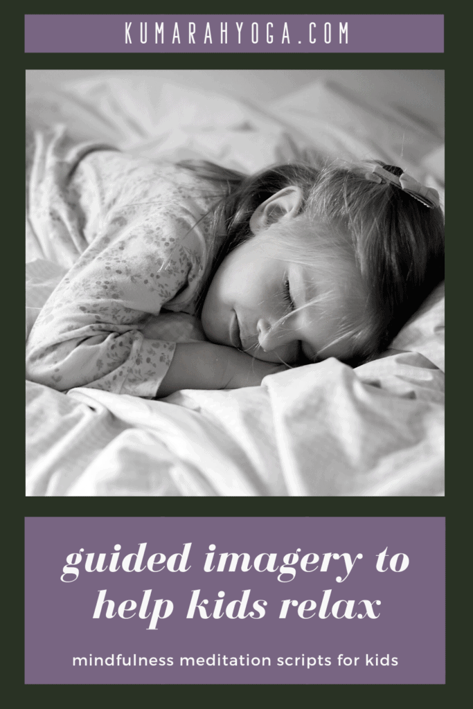 guided imagery mindfulness meditation scripts for kids, relaxation scripts