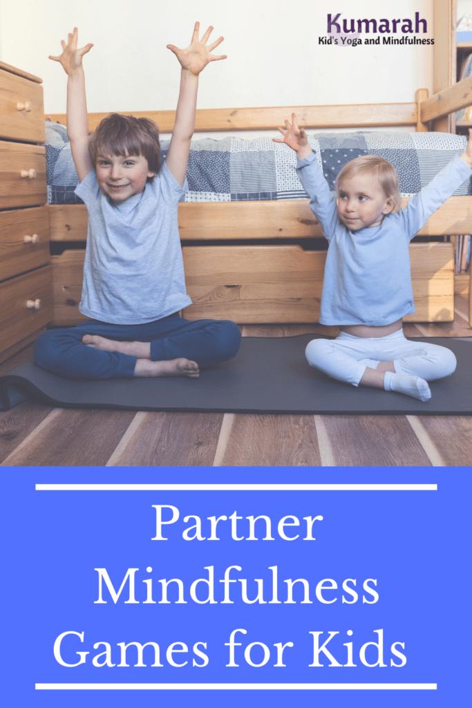 mindfulness partner games for kids