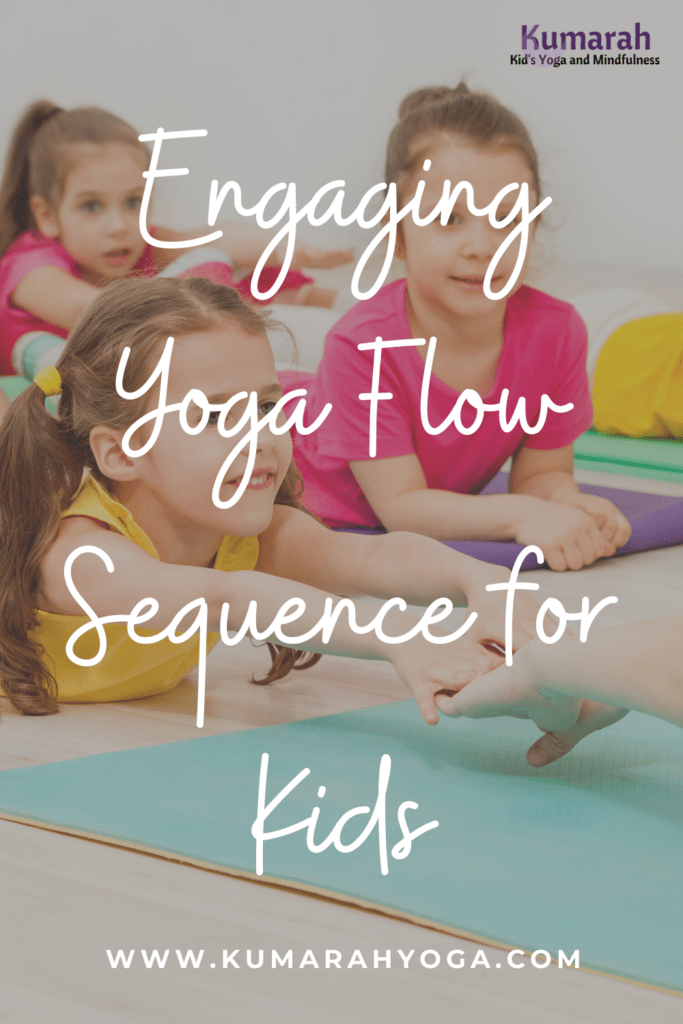 yoga sequence for kids, kids yoga flow for engaging yoga poses