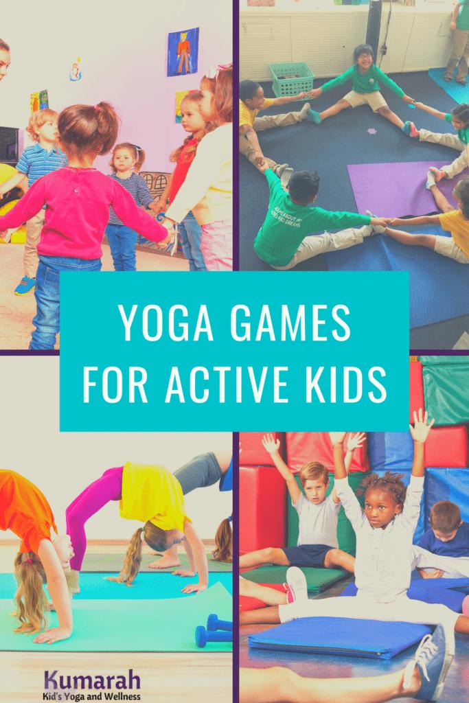 yoga games for kids yoga games for active kids