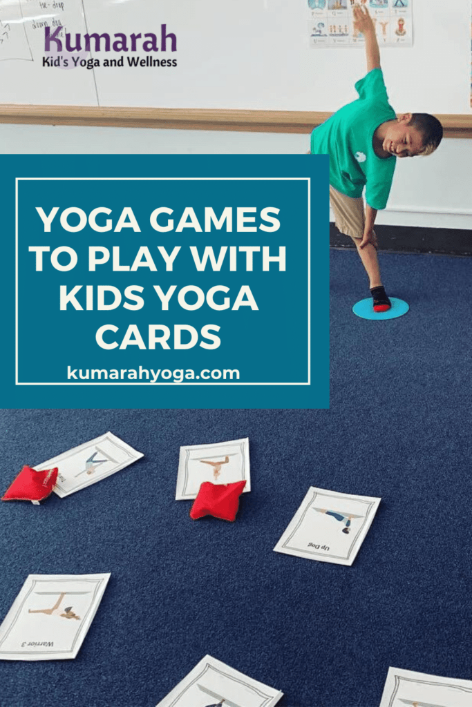 yoga games for kids to play with kids yoga cards