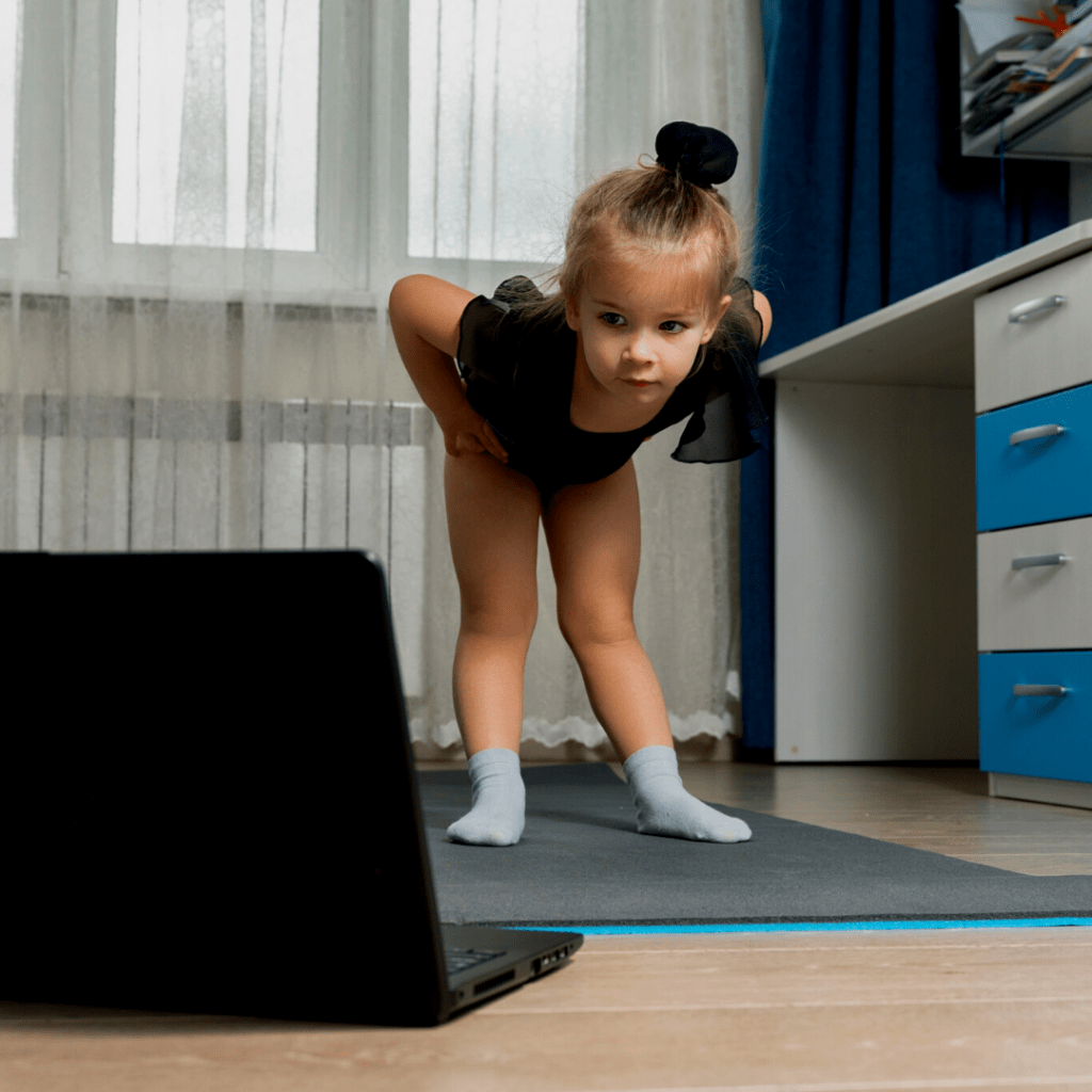virtual and distance learning games for kids yoga classes on zoom