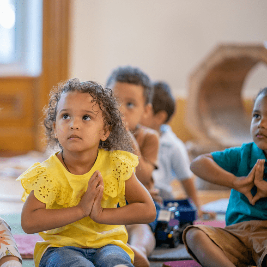 mindfulness for kids, mindfulness for toddlers, kids craft for mindfulness