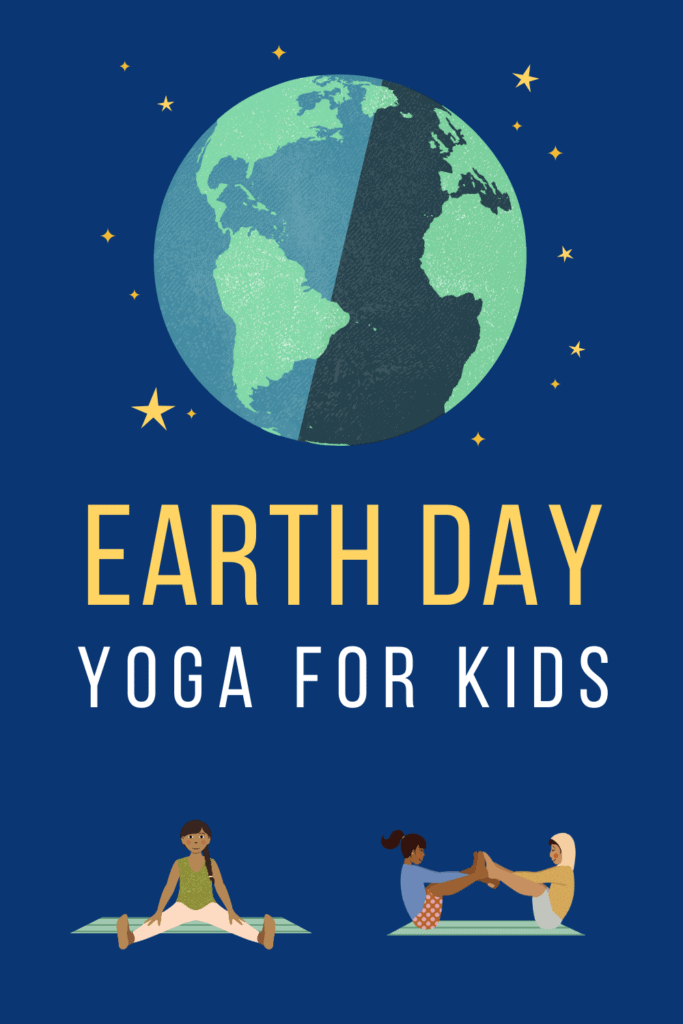 earth day yoga poses for kids