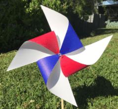 4th of july yoga craft for kids mindfulness pinwheel