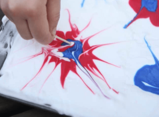 4th of july yoga  and mindfulness craft for kids