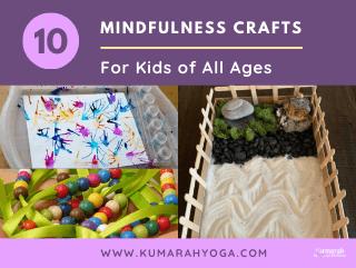 Mindfulness crafts for kids